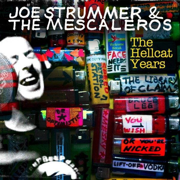 Joe Strummer & The Mescaleros, The Hellcat Years cd cover artwork