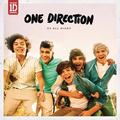 One Direction – Up All Night – copertina album artwork
