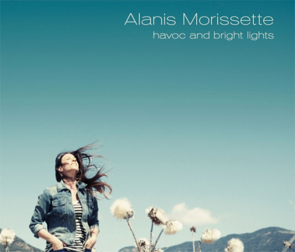 alanis morissette havoc and bright lights copertina disco artwork