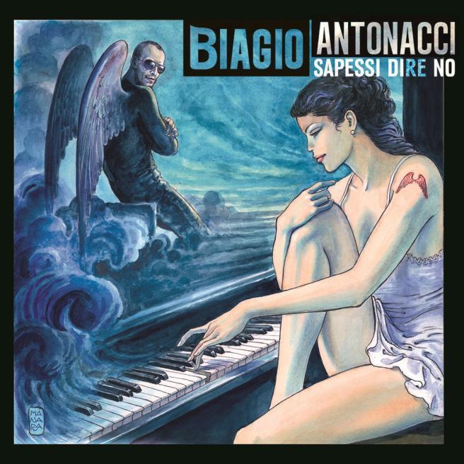 Sapessi Dire No - Biagio antonacci copertina album artwork