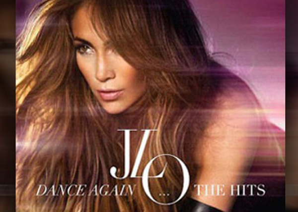 Dance Again... The Hits – Jennifer Lopez - cd cover