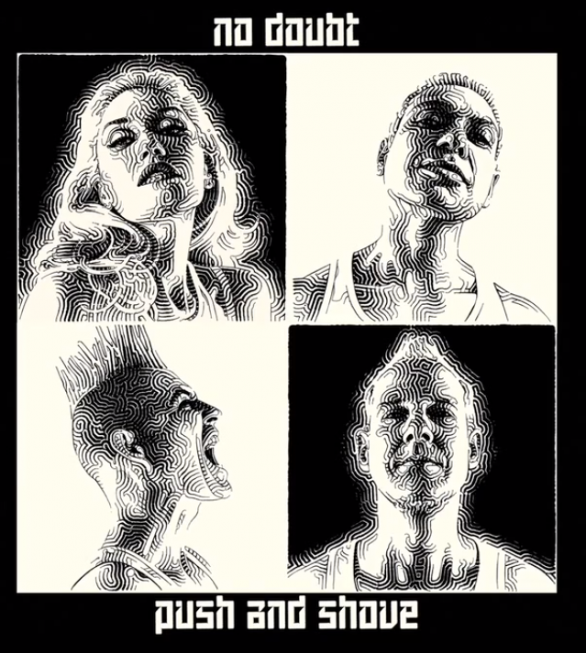 No Doubt - Push and Shove - copertina album artwork
