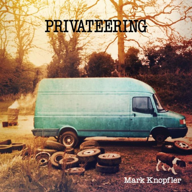 Mark Knopfler – Privateering copertina disco artwork