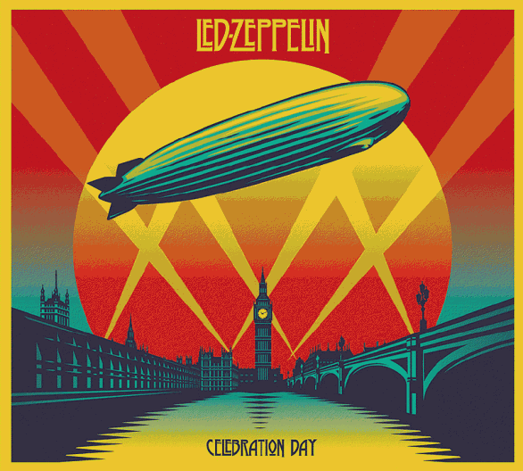 Led Zeppelin - Celebration Day - CD-DVD Cover artwork