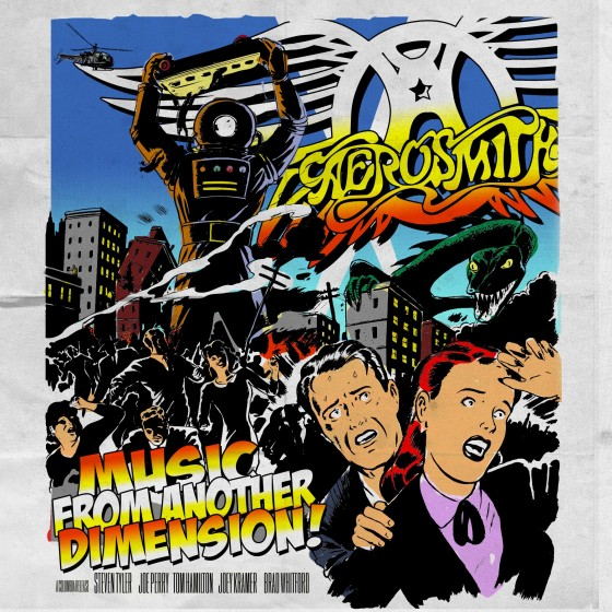 Aerosmith, Music from Another Dimension copertina album artwork