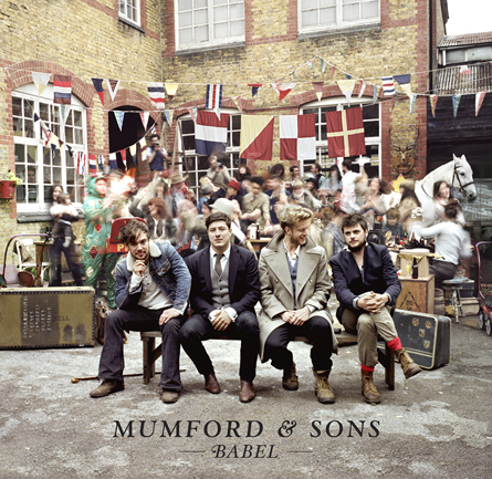 Mumford & Sons - Babel - copertina album artwork