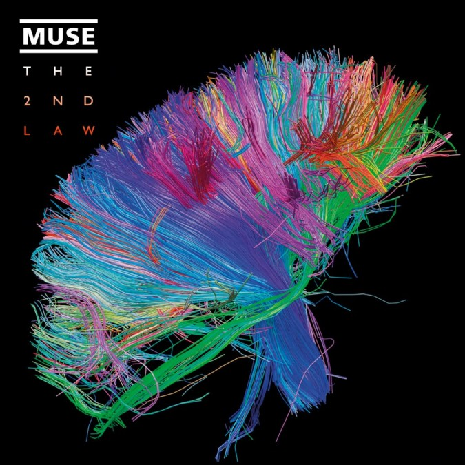 Muse – The 2nd Law – copertina CD artwork