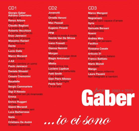 Giorgio Gaper ...io ci sono copertina disco artwork retro back