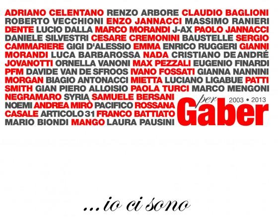 Giorgio Gaper ...io ci sono copertina disco artwork front