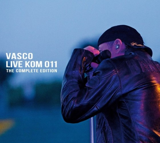 Vasco Rossi - Live Kom 011 The complete edition copertina cd dvd