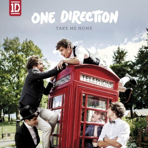 One direction – Take Me Home – copertina album  artwork