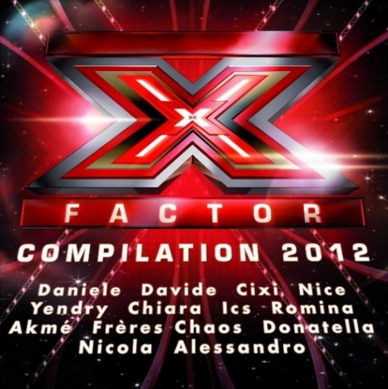 X Factor 2012 Compilation copertina disco artwork