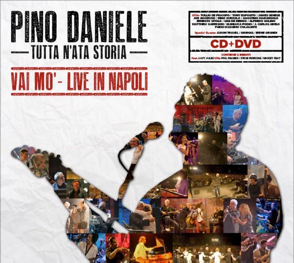 Tutta N'ata Storia – Vai Mò – Live in Napoli cd cover artwork