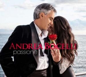 Andrea Bocelli – Passione – copertina disco artwork