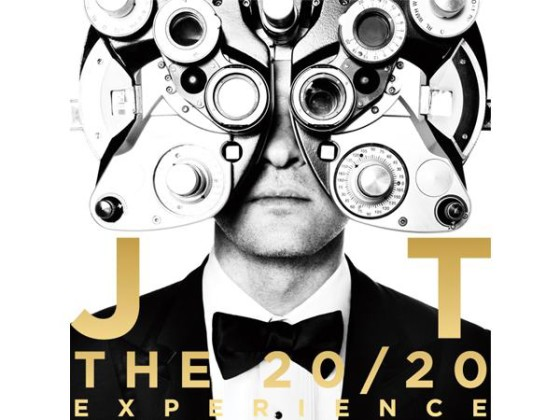 Justin Timberlake - The 20/20 Experience - copertina album artwork