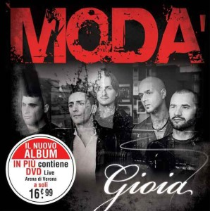 Modà gioia album cover artwork