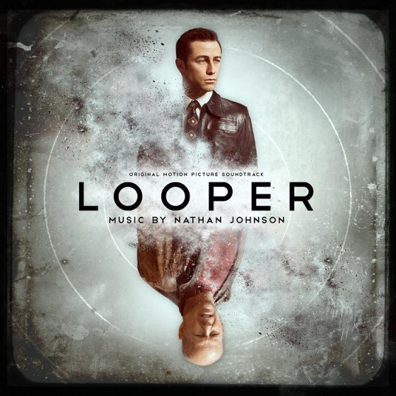 cd cover colonna sonora film Looper