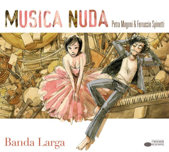 Musica Nuda Banda Larga copertina disco