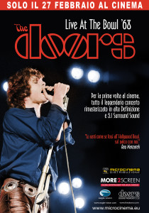 The Doors Live At The Bowl '68 locandina
