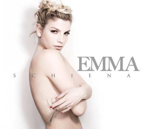 Emma – Schiena copertina album artwork