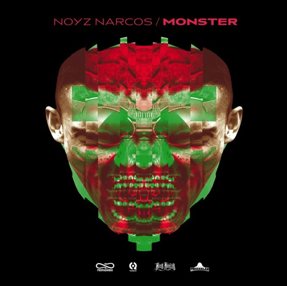 Noyz Narcos - MONSTER (copertina)