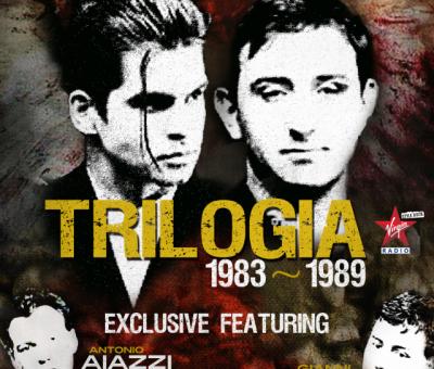 Trilogia 1983-1989 - Litfiba copertina