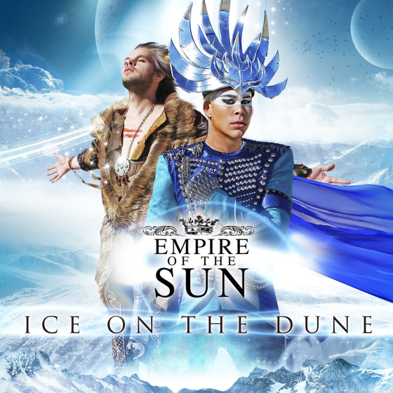 Ice on the dune – Empire of Sun copertina disco