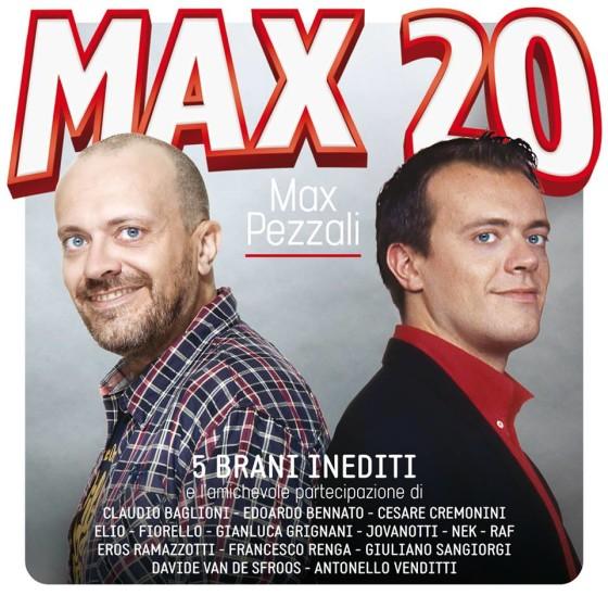 Max Pezzali – Max 20 – album Cover