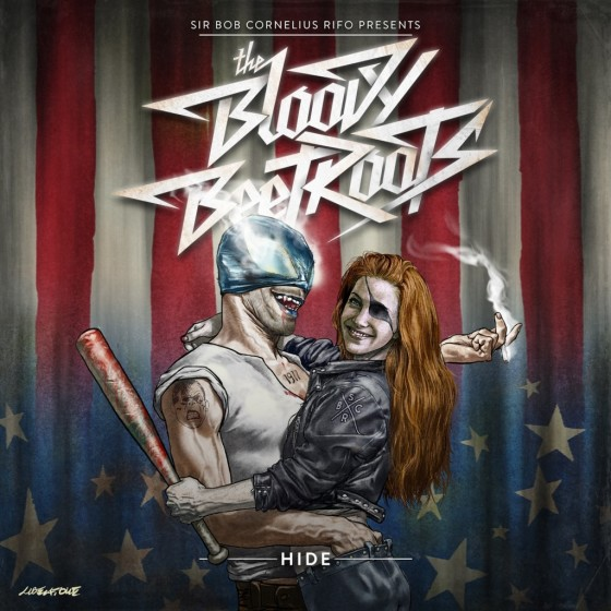 bloody beetroots hide copertina album