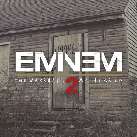 The Marshall Mathers LP2 (Deluxe) - Eminem cover artwork