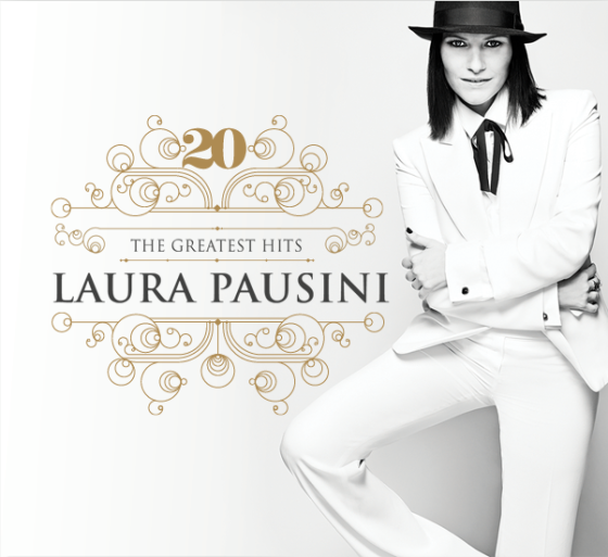 Laura Pausini 20 – The Greatest Hits copertina disco