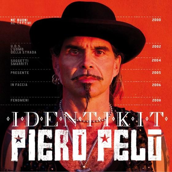 Piero Pelù Identikit copertina disco artwork