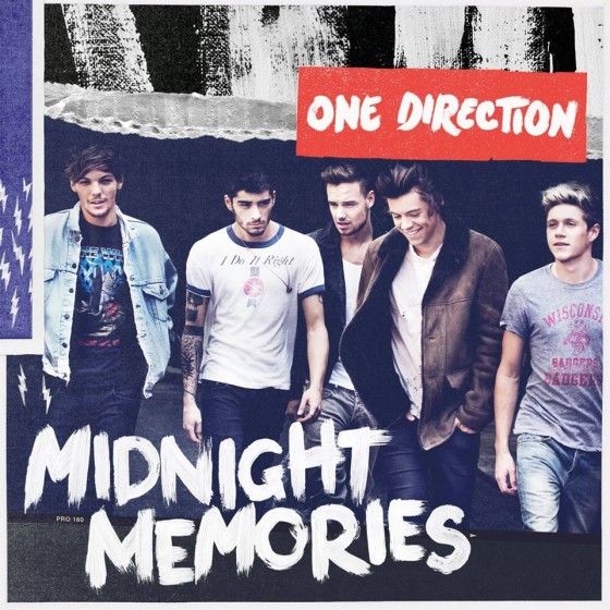 Midnight Memories copertina cd One Direction