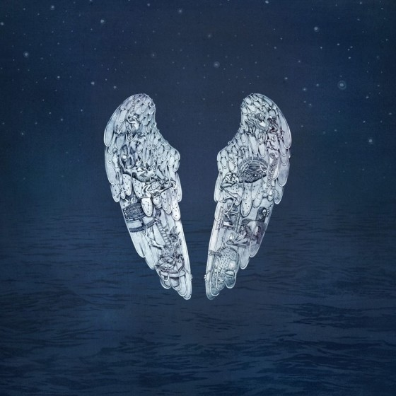 Ghost Stories Coldplay copertina cd artwork