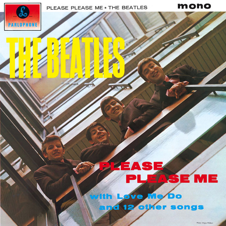 The Beatles - Please Please Me copertina disco